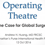 Webinar: The Case for Global Surgery